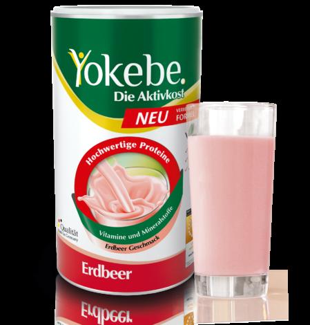 Yokebe Erdbeer neue Formulierung