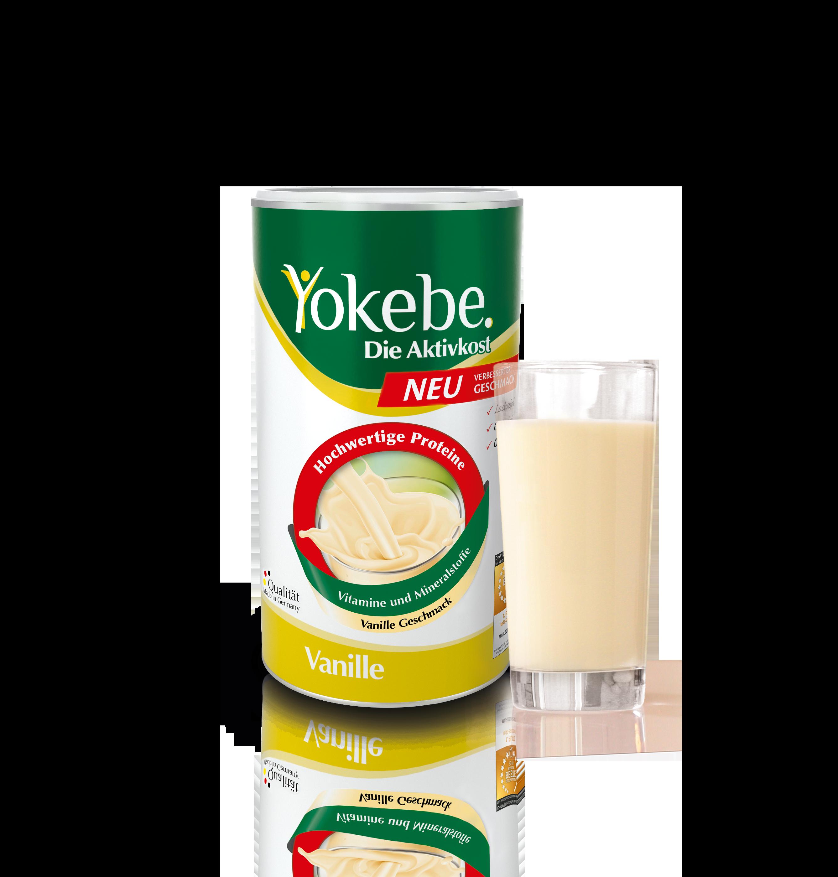 Yokebe Vanille neue Formulierung