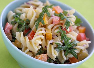 Rezepte-Vegetarisch-nudelsalatpaprika