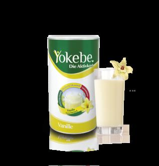 Yokebe Vanille mit Glas