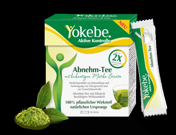 Yokebe Abnehm Tee Ingredients Stick Matcha