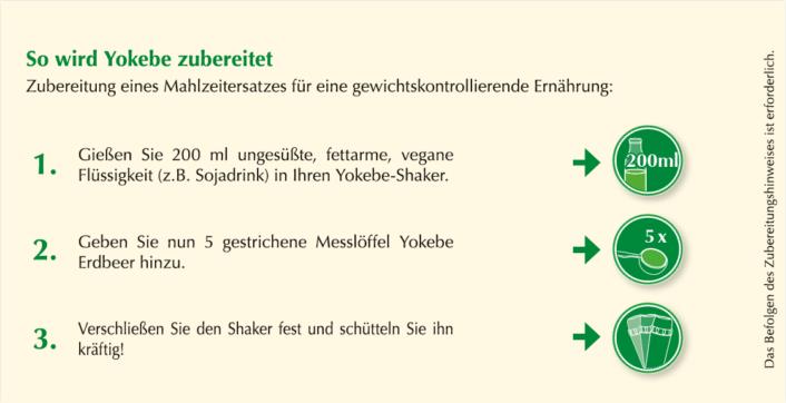 Anwendungshinweis Yokebe Erdbeer neue Formulierung